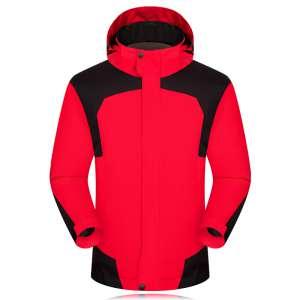 新款定做户外男女款冲锋衣防水保暖登山服无标加logo