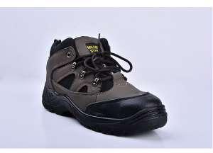 供应劳保鞋安全鞋 高档磨砂皮革防砸防刺穿耐磨防护鞋批发